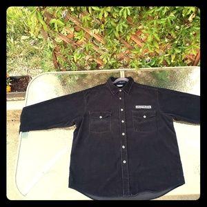 Harley-Davidson mens corduroy shirt